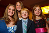 "(Denver, Colorado, Nov. 10, 2010)<br /> Children who participated in the ""I Have a Dream"" segment of the program:  MacKenzie Naylor, Paige Rooney, Ryan White, and Ellie White (sister).  The 2010 Brass Ring Luncheon and Fashion Show, hosted by the The Guild of The Children's Diabetes Foundation at Denver, at the Denver Marriott City Center in Denver, Colorado, on Wednesday, Nov. 10, 2010.<br /> STEVE PETERSON"