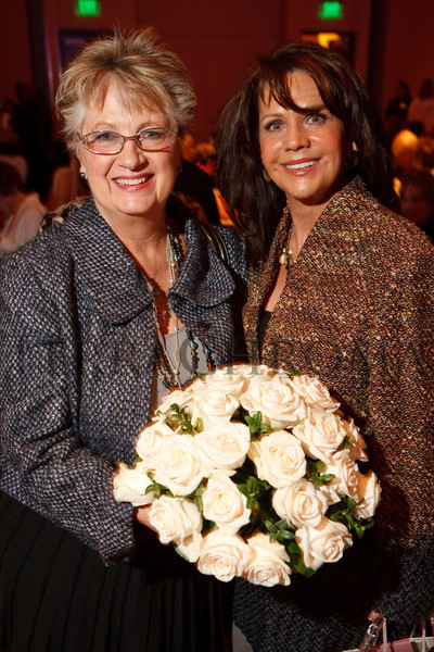 (Denver, Colorado, Nov. 10, 2010)<br /> Jill Behr and Gayle Novak.  The 2010 Brass Ring Luncheon and Fashion Show, hosted by the The Guild of The Children's Diabetes Foundation at Denver, at the Denver Marriott City Center in Denver, Colorado, on Wednesday, Nov. 10, 2010.<br /> STEVE PETERSON