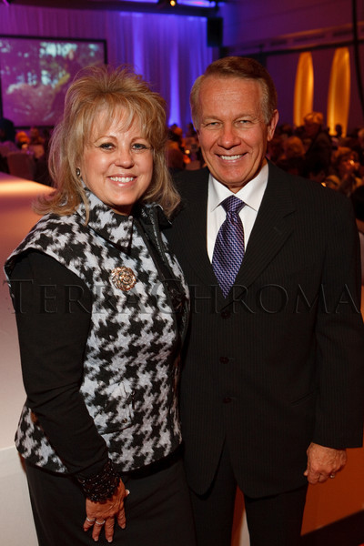 (Denver, Colorado, Nov. 10, 2010)<br /> Judy (CDF Guild president-elect) and Charlie McNeil.  The 2010 Brass Ring Luncheon and Fashion Show, hosted by the The Guild of The Children's Diabetes Foundation at Denver, at the Denver Marriott City Center in Denver, Colorado, on Wednesday, Nov. 10, 2010.<br /> STEVE PETERSON