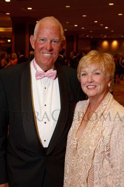 "(Denver, Colorado, Nov. 6, 2010)<br /> Joe (Joseph Coors, Jr.) and Gail Coors.  ""A Pink Tie Affair,"" benefiting the Denver Metropolitan Affiliate of Susan G. Komen for the Cure, at the Sheraton Denver Downtown Hotel in Denver, Colorado, on Saturday, Nov. 6, 2010.<br /> STEVE PETERSON"