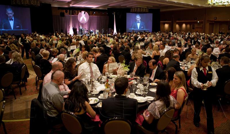 "(Denver, Colorado, Nov. 6, 2010)<br /> ""A Pink Tie Affair,"" benefiting the Denver Metropolitan Affiliate of Susan G. Komen for the Cure, at the Sheraton Denver Downtown Hotel in Denver, Colorado, on Saturday, Nov. 6, 2010.<br /> STEVE PETERSON"