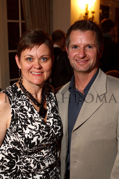 (Cherry Hills Village, Colorado, Nov. 16, 2010)<br /> Karla Johnson-Grimes and Joe McCormack.  ArtReach Dine & D'art Kick-Off Party at the Schneider home in Cherry Hills Village, Colorado, on Tuesday, Nov. 16, 2010.<br /> STEVE PETERSON