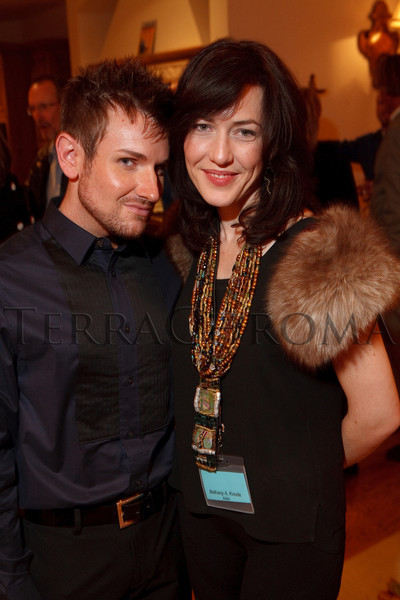 (Cherry Hills Village, Colorado, Nov. 16, 2010)<br /> Ian Gunter and Bethany Knode.  ArtReach Dine & D'art Kick-Off Party at the Schneider home in Cherry Hills Village, Colorado, on Tuesday, Nov. 16, 2010.<br /> STEVE PETERSON