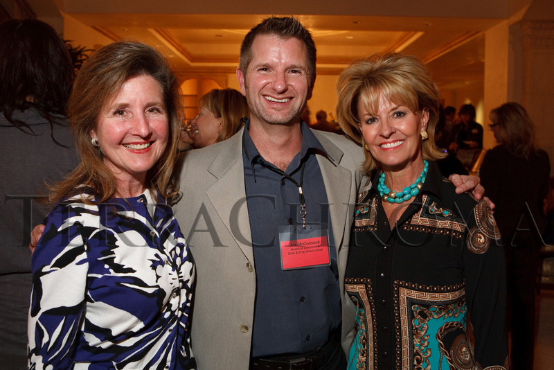 (Cherry Hills Village, Colorado, Nov. 16, 2010)<br /> Toni Oakes Sexton, Joe McCormack, and Jamie Angelich.  ArtReach Dine & D'art Kick-Off Party at the Schneider home in Cherry Hills Village, Colorado, on Tuesday, Nov. 16, 2010.<br /> STEVE PETERSON