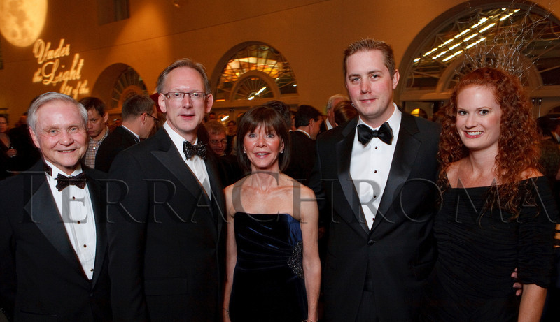 "(Denver, Colorado, Nov. 19, 2010)<br /> Tom Meade, Greg Carpenter (Opera Colorado general director), Mary Meade, and Justin Apt and Charlotte Meade.  ""Under the Light of the Moon,"" the Opera Colorado Gala 2010 fundraiser at the Ellie Caulkins Opera House in Denver, Colorado, on Friday, Nov. 19, 2010.<br /> STEVE PETERSON"
