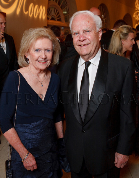 """(Denver, Colorado, Nov. 19, 2010)<br /> Shirley and Marlis Smith (two of the six event co-chairs).  """"Under the Light of the Moon,"""" the Opera Colorado Gala 2010 fundraiser at the Ellie Caulkins Opera House in Denver, Colorado, on Friday, Nov. 19, 2010.<br /> STEVE PETERSON"""