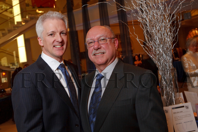 "(Denver, Colorado, Nov. 19, 2010)<br /> B.J. Dyer and Gunther Vogt of Bouquets.  ""Under the Light of the Moon,"" the Opera Colorado Gala 2010 fundraiser at the Ellie Caulkins Opera House in Denver, Colorado, on Friday, Nov. 19, 2010.<br /> STEVE PETERSON"