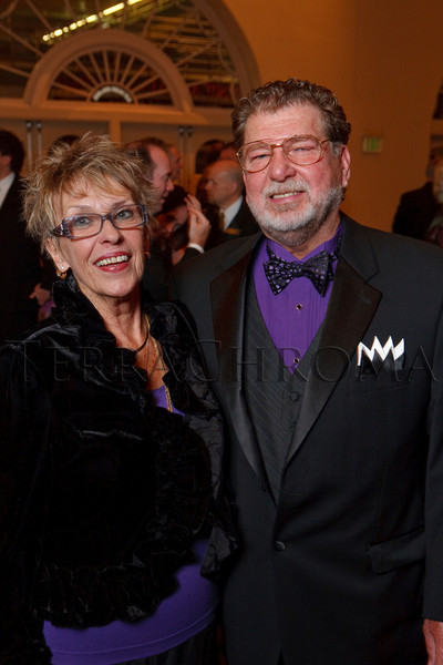 "(Denver, Colorado, Nov. 19, 2010)<br /> Hilja Herfurth and Jim Mather.  ""Under the Light of the Moon,"" the Opera Colorado Gala 2010 fundraiser at the Ellie Caulkins Opera House in Denver, Colorado, on Friday, Nov. 19, 2010.<br /> STEVE PETERSON"