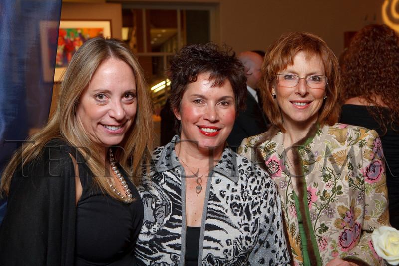 "(Denver, Colorado, Nov. 19, 2010)<br /> Karen Humphrey, Cindy Muniz, and Leslie Percival.  ""Under the Light of the Moon,"" the Opera Colorado Gala 2010 fundraiser at the Ellie Caulkins Opera House in Denver, Colorado, on Friday, Nov. 19, 2010.<br /> STEVE PETERSON"