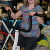 THREE Thanksgiving Dinners today,  and another on Saturday,  On the exercise bike, at Great Grandma Elsie,