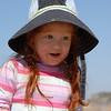Yael at the beach