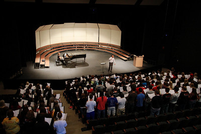 Choral Clinic at GWU; October 14, 2010.