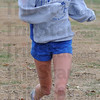 Still going: Terre Haute South cross country standout Nikii Thiede runs intervals after school Thursday.