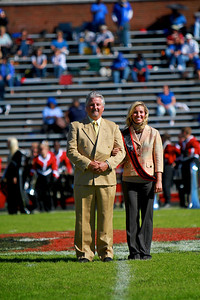 Homecoming court announced during halftime; October 23, 2010.