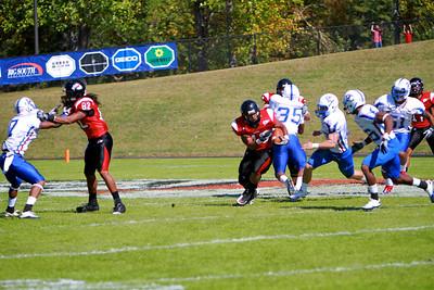 Homecoming game vs Presbyterian; October 23, 2010.