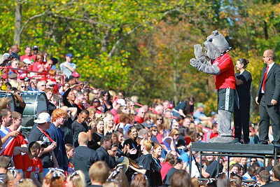 Homecoming game vs Presbyterian; October 23, 2010.
