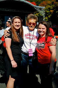 Tailgate and Street Party with the Embers before the Homecoming Game.