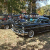 Classics: A gleaming '57 Chevy and two DeLoreans were part of the car show at the Old Fashioned Days and Art Too at Collett Park Sunday afternoon.