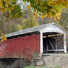 Serene: The Billie Creek covered bridge is an inviting subject for photographers Friday afternoon.