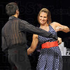 Over the top: Natalie Overton performs her winning swing dance durng Friday's Dancing with the Stars.