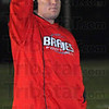 Just one: Terre Haute South head football coach Mark Raetz calls for a one point conversion after his team's second touchdown against Brownsburg.