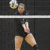 Bump: Terre Haute South's Taylor Hayne bumps the ball during action against Plainfield Saturday night.