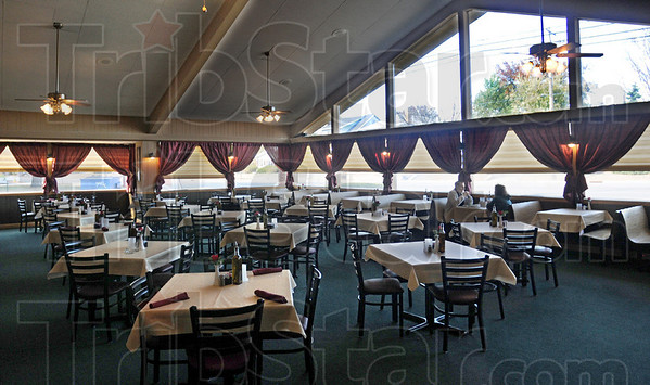 Tuscany dining: One of two dining rooms at the newly-opened Tuscany Restaurant offers lots of daylight seating.