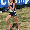 Valley's best: Patriot runner Chanli Mundy nears the finish line in the girls State Championship Cross Country meet.