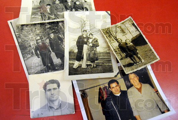 Popoff photos: Detail photo of Popoff family photos.