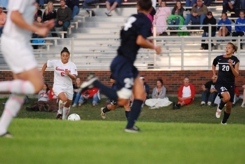 Many students went out to support the women's soccer team as theyplayed Charleston Southern on Friday night.