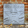 Four to go: Three of the next seven plaques for the Terre Haute Walk of fame have been cast by Gartland Foundry. Plaques for Edwin Franko Goldman, Eugene V. Debs, Barbara Laffoon Sizemore and Lee A. Dubridge are yet to be made.