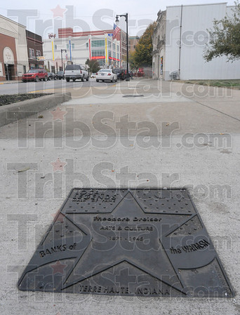 More to come: Seven more plaques will be added to the Walk of Fame along Wabash Avenue between 8th and 9th streets.