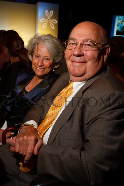 "(Denver, Colorado, Oct. 2, 2010)<br /> Leslie and Bill Vollbracht.  The ""Be Beautiful Be Yourself Jet Set Fashion Show 2010,"" benefiting the Global Down Syndrome Foundation, at Hyatt Regency Denver at the Colorado Convention Center in Denver, Colorado, on Saturday, Oct. 2, 2010.<br /> STEVE PETERSON"