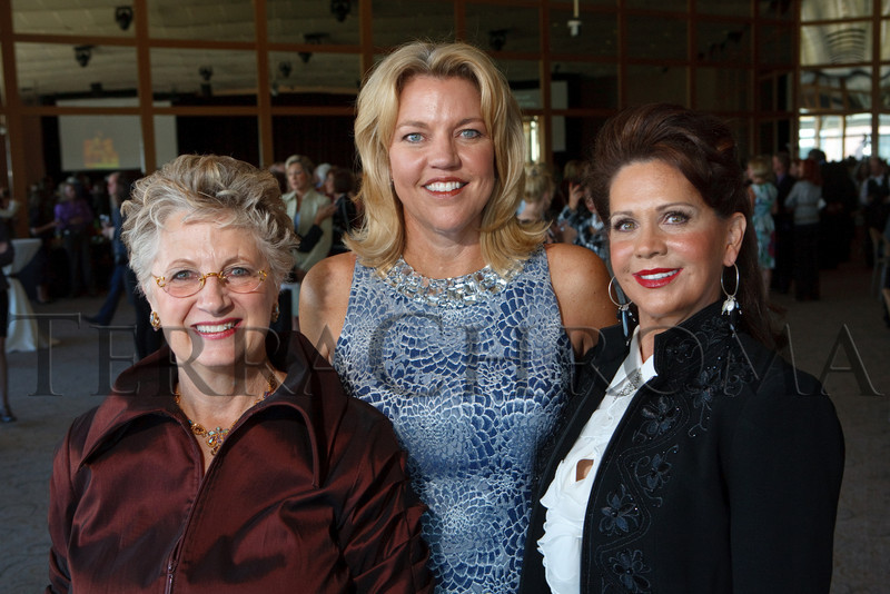 "(Denver, Colorado, Oct. 15, 2010)<br /> Jill Behr, Lisa Daniel-Johnson, and Gayle Novak.  ""Theatre Threads,"" benefiting The Denver Center Alliance, at the Denver Center for Performing Arts, Seawell Ballroom, in Denver, Colorado, on Friday, Oct. 15, 2010.<br /> STEVE PETERSON"