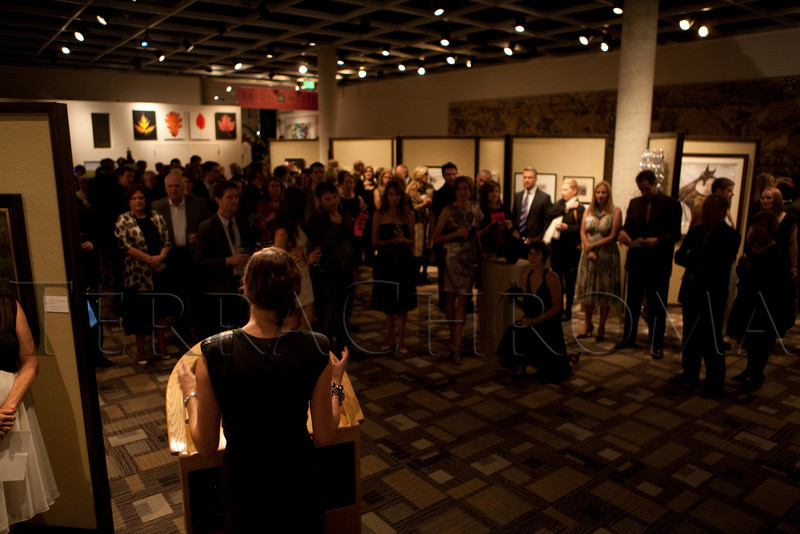 "(Denver, Colorado, Oct. 16, 2010)<br /> ""Salon du Musée,"" benefiting the Denver Art Museum, at the Denver Art Museum in Denver, Colorado, on Saturday, Oct. 16, 2010.<br /> STEVE PETERSON"