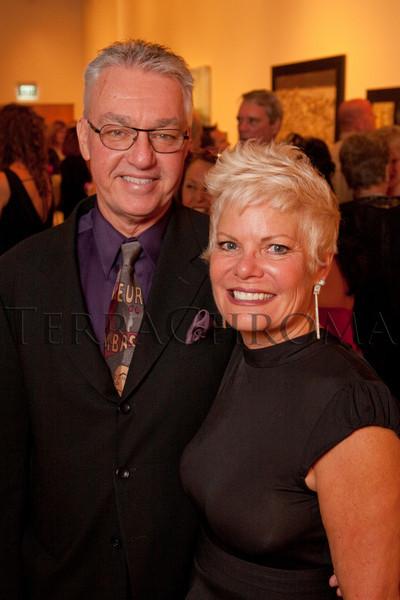 "(Denver, Colorado, Oct. 16, 2010)<br /> Rob and Paula Grey.  ""Salon du Musée,"" benefiting the Denver Art Museum, at the Denver Art Museum in Denver, Colorado, on Saturday, Oct. 16, 2010.<br /> STEVE PETERSON"