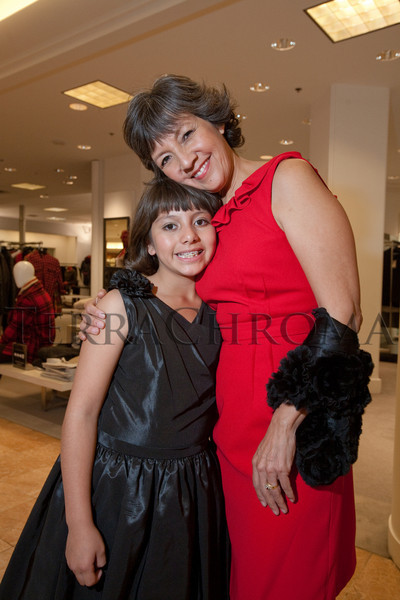 """(Denver, Colorado, Oct. 21, 2010)<br /> Hope and Judy Montero.  """"Key to the Cure,"""" a women's cancer program benefit hosted by the Denver Health Foundation, at Saks Fifth Avenue Cherry Creek in Denver, Colorado, on Thursday, Oct. 21, 2010.<br /> STEVE PETERSON"""