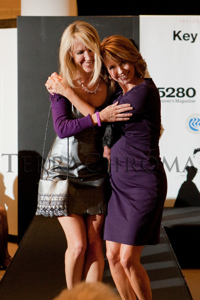 "(Denver, Colorado, Oct. 21, 2010)<br /> Keri and Kim Christiansen.  ""Key to the Cure,"" a women's cancer program benefit hosted by the Denver Health Foundation, at Saks Fifth Avenue Cherry Creek in Denver, Colorado, on Thursday, Oct. 21, 2010.<br /> STEVE PETERSON"