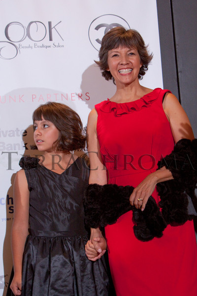 "(Denver, Colorado, Oct. 21, 2010)<br /> Hope and Judy Montero.  ""Key to the Cure,"" a women's cancer program benefit hosted by the Denver Health Foundation, at Saks Fifth Avenue Cherry Creek in Denver, Colorado, on Thursday, Oct. 21, 2010.<br /> STEVE PETERSON"