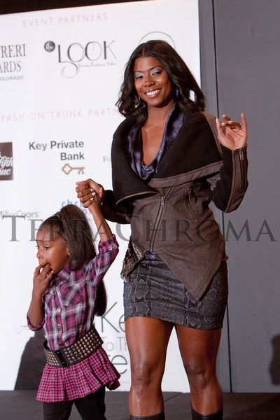 "(Denver, Colorado, Oct. 21, 2010)<br /> Cenaiya and Piper Billups.  ""Key to the Cure,"" a women's cancer program benefit hosted by the Denver Health Foundation, at Saks Fifth Avenue Cherry Creek in Denver, Colorado, on Thursday, Oct. 21, 2010.<br /> STEVE PETERSON"