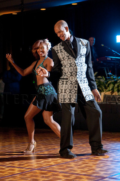 (Denver, Colorado, Oct. 30, 2010)<br /> Shanna Woods and Moses Brewer.  Cleo Parker Ronbinson Dance 40th anniversary gala at the Renaissance Denver Hotel in Denver, Colorado, on Saturday, Oct. 30, 2010.<br /> STEVE PETERSON