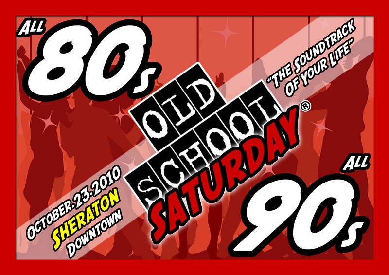 "Our October event will be Sat-Oct-23-2010 at The Sheraton Atlanta Hotel in Downtown ATL ::: 165 Courtland Street (off Andrew Young International BLVD) :::: info and tickets:   <a href=""http://www.oldschoolsaturday.com"">http://www.oldschoolsaturday.com</a>"