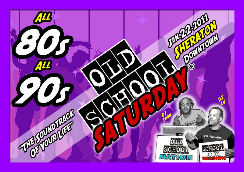 """We will start 2011 right back at The Sheraton Atlanta Downtown on Jan-22-2011.  Spread the word, make your plans, and grab your tickets.  More info, FAQs, links, VIP tables, and b-day packages may be found here:   <a href=""""http://www.oldschoolsaturday.com"""">http://www.oldschoolsaturday.com</a>"""