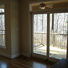 View of the screened porch