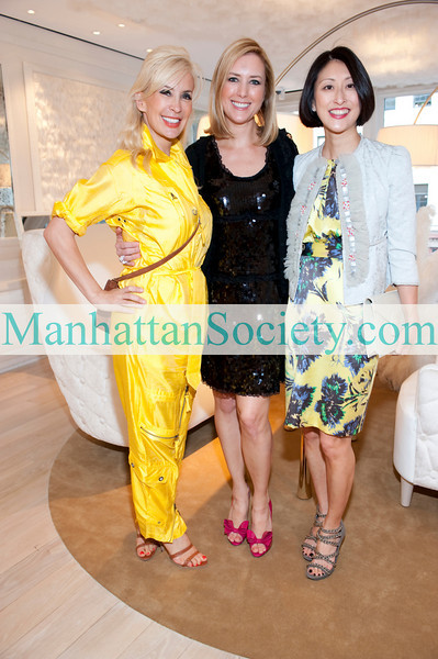 NEW YORK-APRIL 12: Tracy Stern, Christine Cachot, Adelina Wong Ettelson attend PLATINUM JEWELS IN BLOOM at MAUBOUSSIN Boutique Benefiting CENTRAL PARK CONSERVANCY on Monday April 12, 2010 on Madison Avenue, New York City, NY   (PHOTO CREDIT:  ©Manhattan Society.com 2010 by Christopher London)