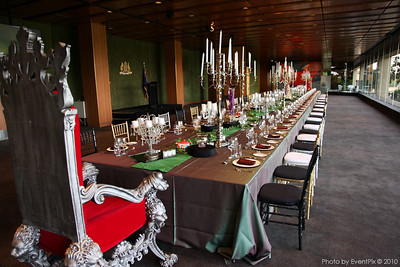 The Members Dining Room - as the members have never seen it.