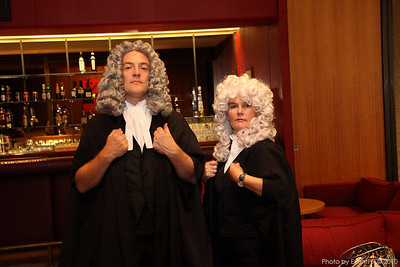 David and Trish - the barristers
