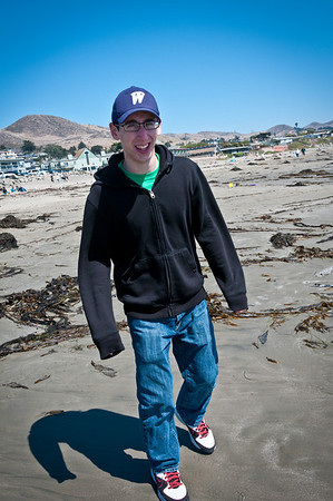 Ben on the beach