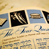 The Lubitows' Haggadah books for passover feature fantastic 1960s illustrations throughout.