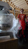 Gideon Gfeller making icecream using fluid nitrogen<br /> <br /> Photo: Sepp Kipfstuhl